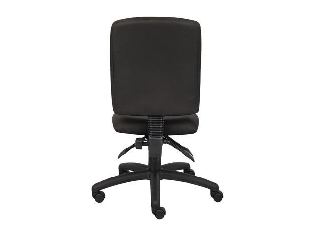 Boss B3035BK Multi Function Fabric Task Chair Without Arms