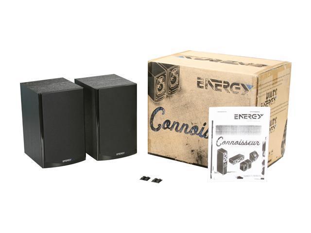 Energy CB 10 Bookshelf Speakers Pair Black NeweggFlash