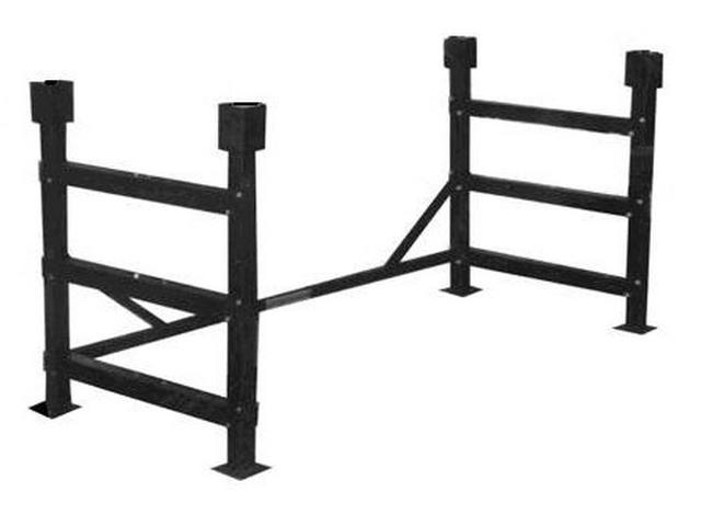 versonel metal platform loft conversion kit for twin size bed dorm steel frame spp - Dorm Bed Frame
