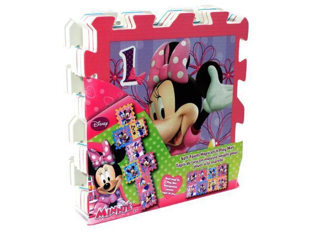 Disney Minnie Mouse Bowtique Foam Hopscotch Puzzle Play Mat 8