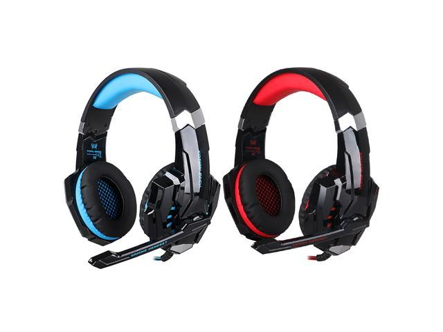9123c6b0f2d KOTION EACH G9000 3.5mm Gaming Headphone Game Headset Noise Cancellation  Earphone w/ Mic LED