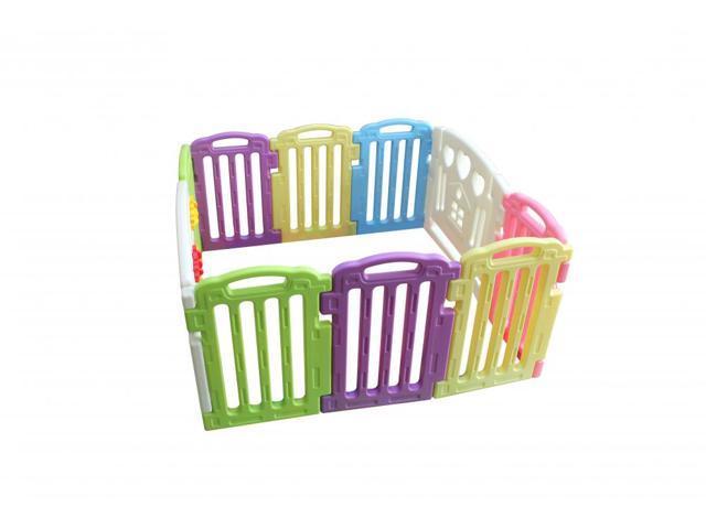 bea98b66094f4 Mxied Baby Playpen Kids 10 Panel Safety Play Center Yard Home Indoor Outdoor  Pen