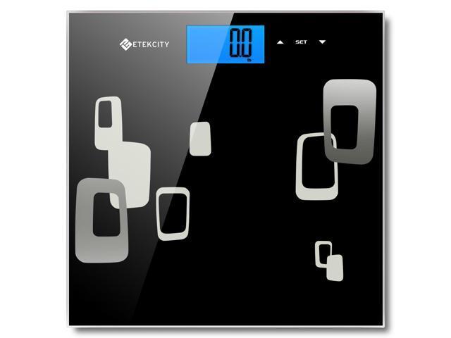 Etekcity Digital Body Fat Weight Bmi Bathroom Scale Bia Technology