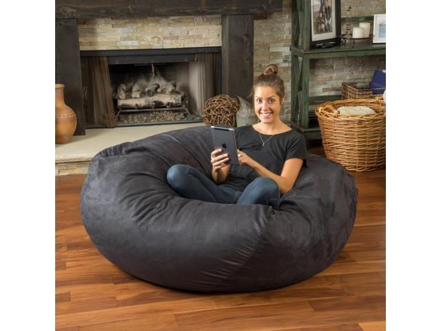 Christopher Knight Home Madison Faux Suede 5 Foot Bean Bag