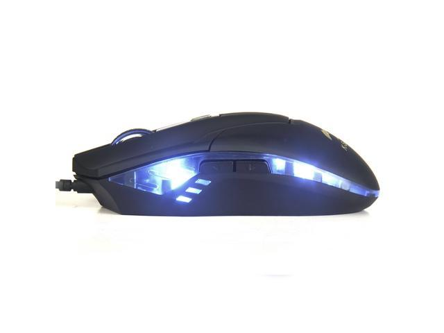 73eebda6f4b K-Scorpion SM-8509II 1800DPI Blue LED Color 5 Button USB Wired Gaming Mouse
