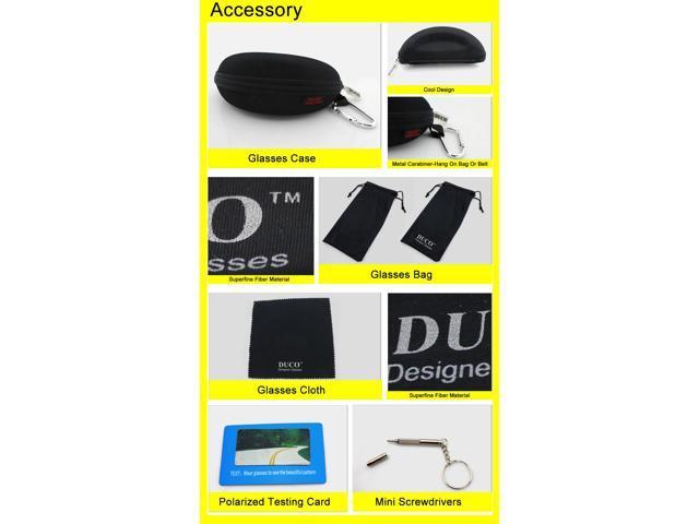 e0584f212cc6 Eyewear   Accessories Duco Night-vision Glasses Anti-glare Driving Eyewear Polarized  2181