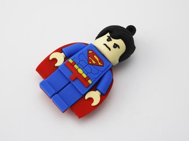 Lego Movie Lord Business Minifigure Super heroes Superman 16G USB ...