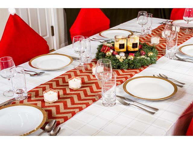 Rustic Christmas Table Runners 70 Country Burlap Tablecloth
