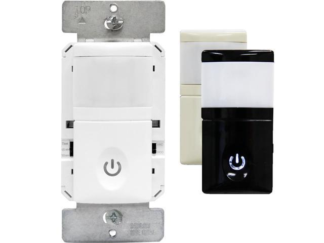 Enerlites motion sensor light switch pir occupancyvacancy light enerlites motion sensor light switch pir occupancyvacancy light sensor 120277v mozeypictures Gallery