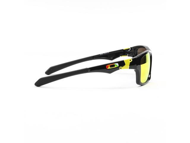 4c48b3f5764be Oakley OO9135-11 Valentino Rossi Jupiter Squared Sunglasses - Black   Fire  Iridium