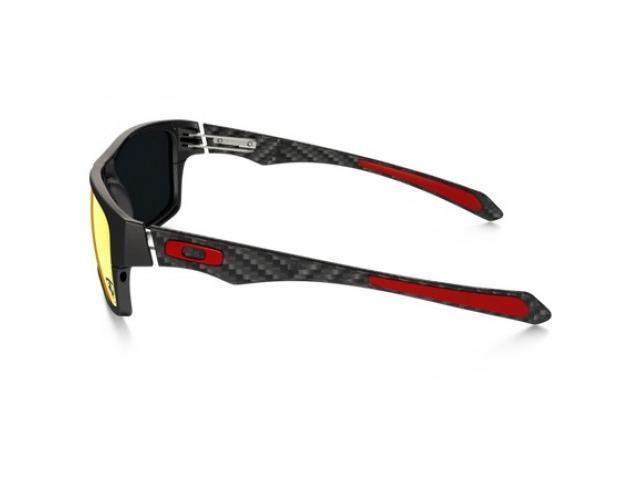 f757549437 Oakley OO9220-06 Ferrari Jupiter Polarized Carbon Sunglasses - Carbon   Ruby  Irid