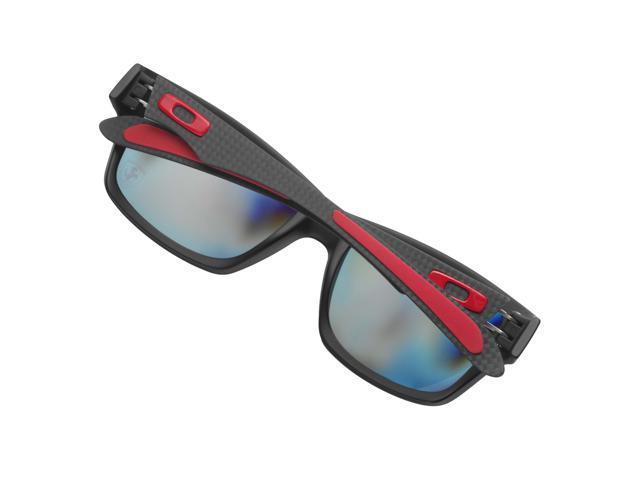 a6e9b47ca0b Oakley OO9220-06 Ferrari Jupiter Polarized Carbon Sunglasses - Carbon   Ruby  Irid
