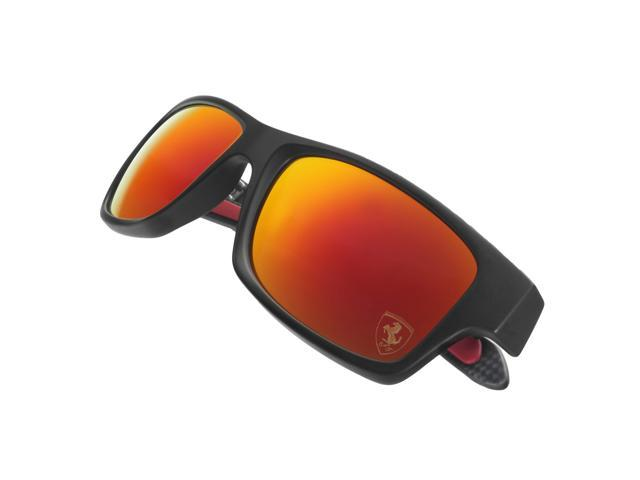 0c891d1dcb Oakley OO9220-06 Ferrari Jupiter Polarized Carbon Sunglasses - Carbon    Ruby Irid