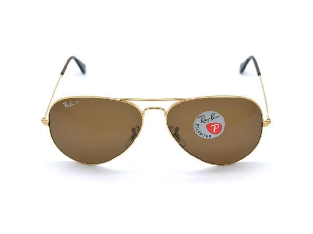 dad95539ae3 Ray Ban RB3025 001 57 Aviator Classic Sunglasses (58mm) - Polarized Brown  Lens