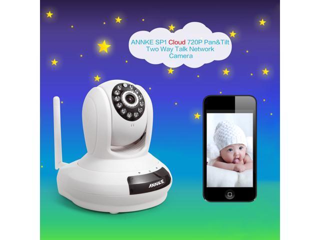 Annke SPI Simple Setup 720P HD Wi-Fi Network IP Camera Baby Monitor
