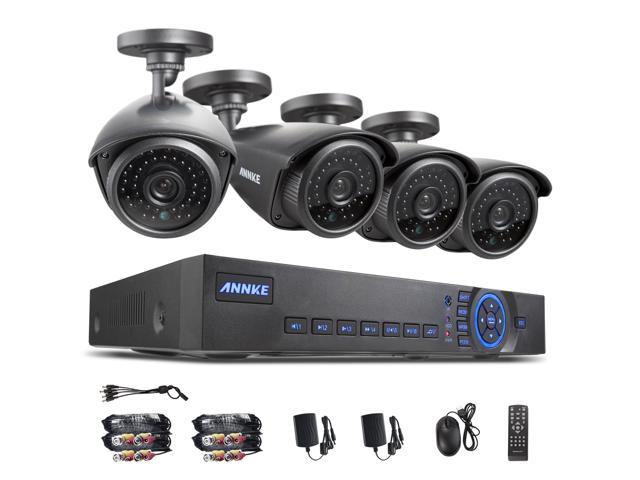 Annke 8-Channel Full 960H CCTV DVR with 4-900TVL Outdoor Security