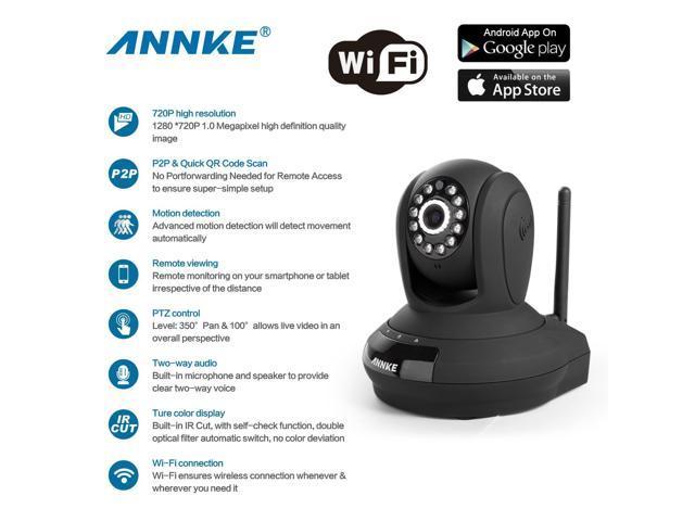 Annke Home Security 1280 x 720P HD CCTV Wireless Network IP