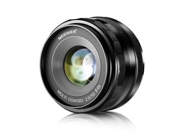 neewer 50mm f 2 0 manual focus prime fixed lens for sony e mount rh flash newegg com Sony NEX 3 Lens sony nex-3 manual focus assist