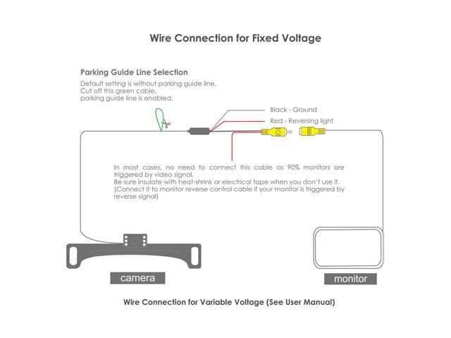 Wireless Rear View Camera Wiring Diagram : Wireless rear view camera wiring diagram