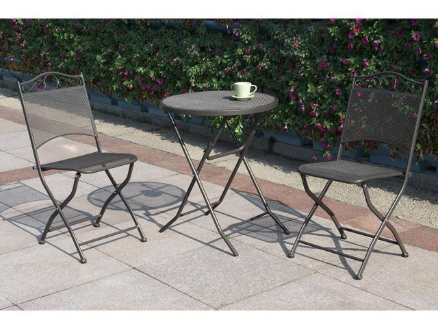 poundex p50215 outdoor mesh patio side table neweggflash com