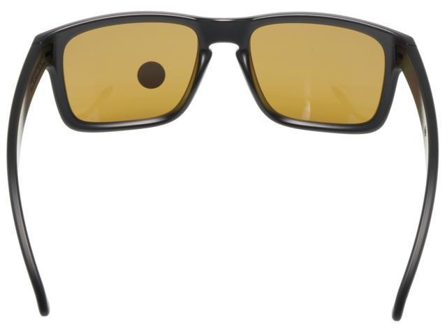 1037b20657 Oakley Holbrook Sunglasses Matte Black w  Bronze Polarized Lens OO9102-98